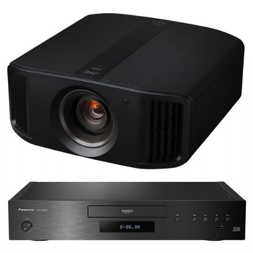 JVC DLA-N5 4K Projector + Panasonic DP-UB9000 UHD Blu-Ray Player